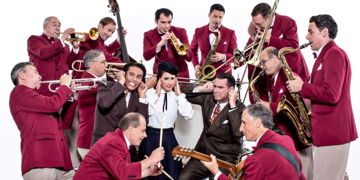 Gruppenfoto Big Band Andrej Hermlin